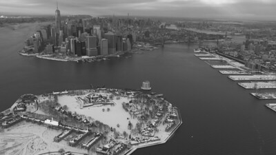 NYC Blizzard 6 bw