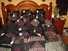 Cushions and purses from Authentic Himalayan Textiles in Kathmandu