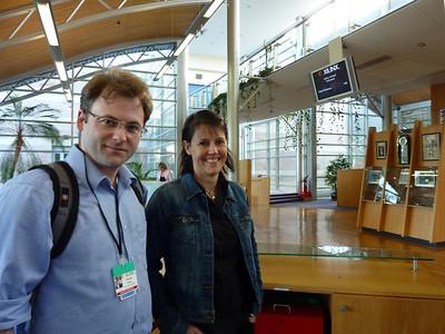 David and Michaela at Xilinx Dublin