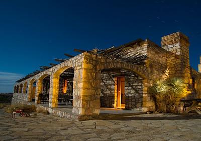 Villa de la Mina, Terlingua, Texas.