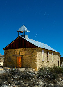 Chapel Terlingua Ghost Town.