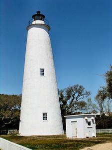 Ocracoke Lighthouse, Ocracoke Island, North Carolina