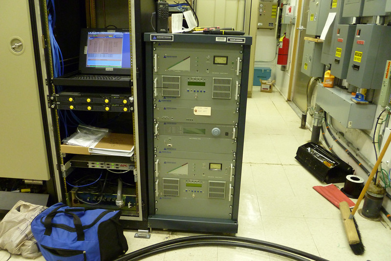 New transmitter in place