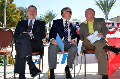 SBIAA Executive Director AJ Wilson, Pat Morris and Gary Underwood.