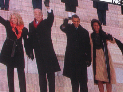 The Bidens and the Obamas.