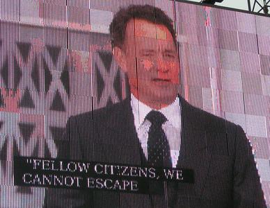 "Tom Hanks recites ""The Lincoln Portrait."""