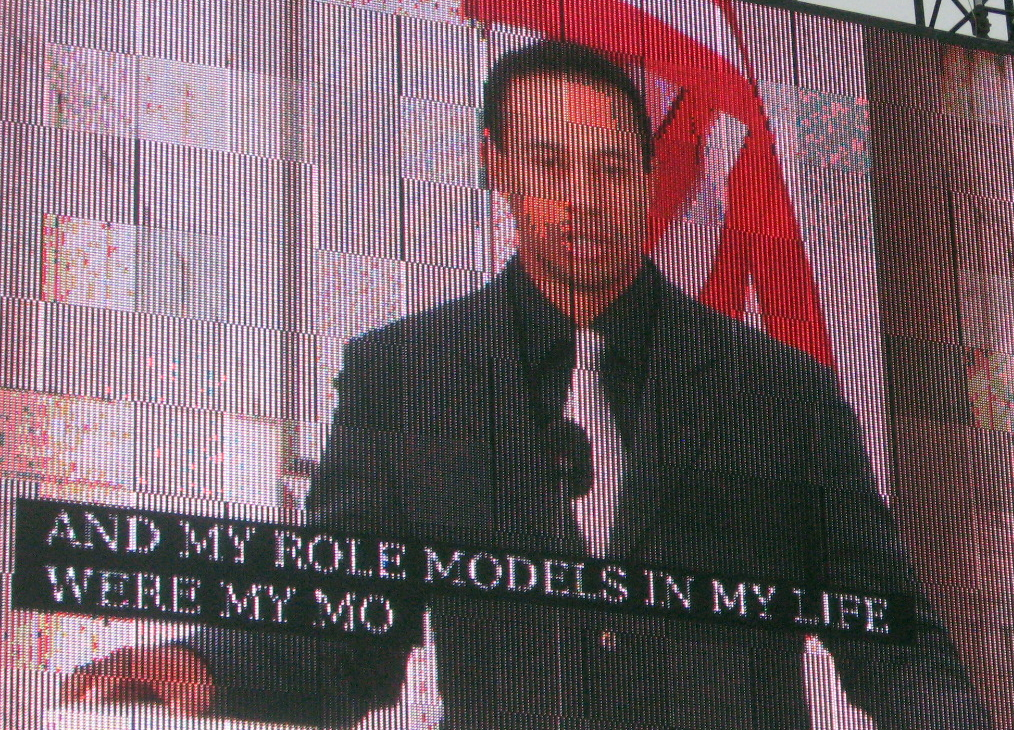 Tiger Woods takes a swing at a few remarks.