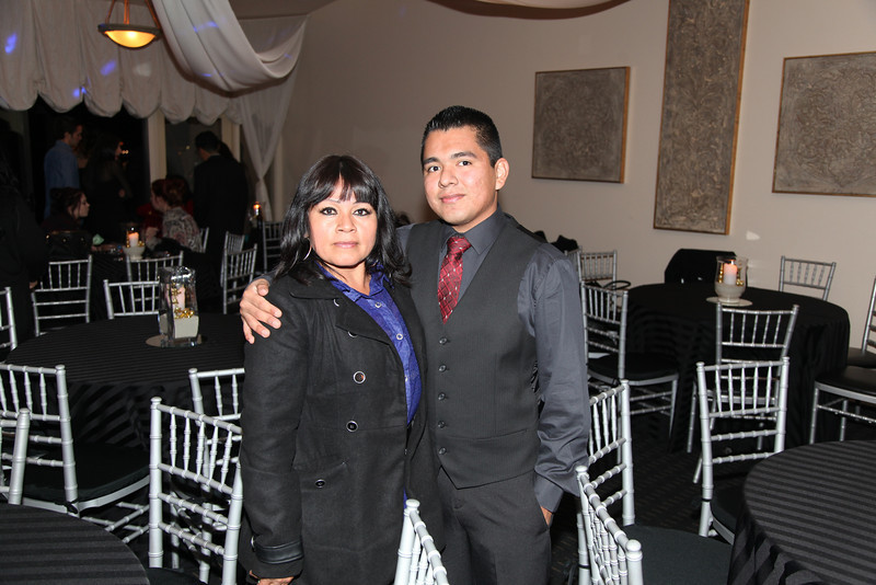 Chris & mother