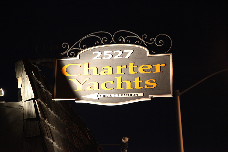 Party was held at Charter Yacht Club in Newport Beach