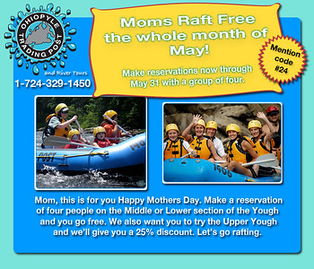 2012 Mothers Day email campaign.