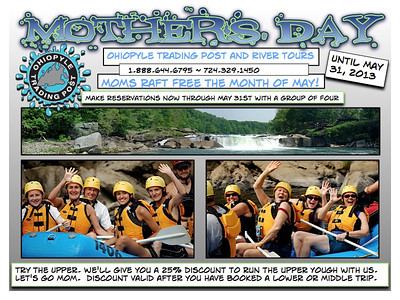 Ohiopyle Trading Post Email Campaigns