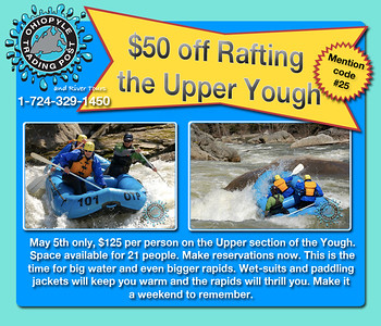 2012 Upper Yough email campaign in May.