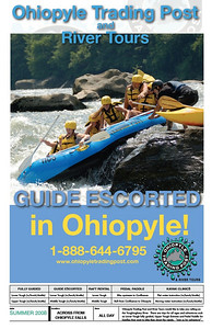 These were posters I designed to market the activities of rafting on the Lower Youghiogheny River