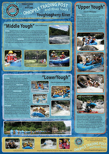Ohiopyle Trading Post and River Tours 2011 brochure.