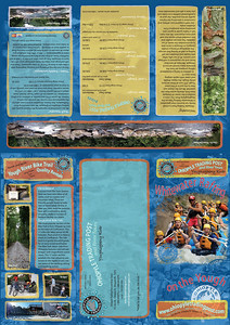 Ohiopyle Trading Post and River Tours 2009 brochure.