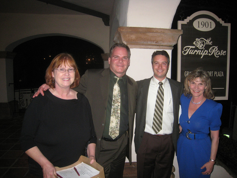 Donna McPride, Keith Rundle, Dan Klein, Mary Cote