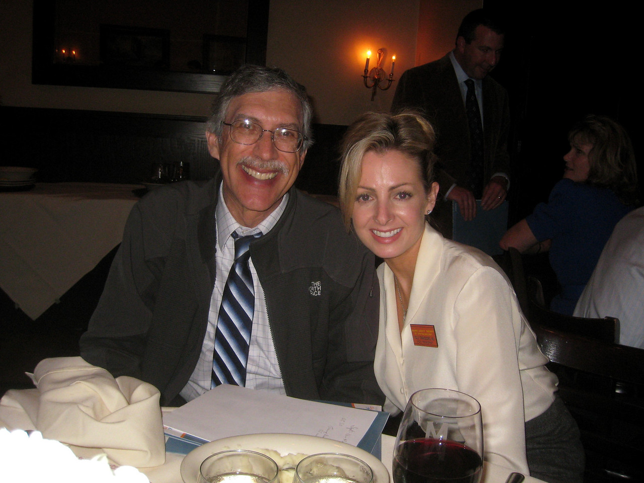 Ron Gaster and Holly Spanggord