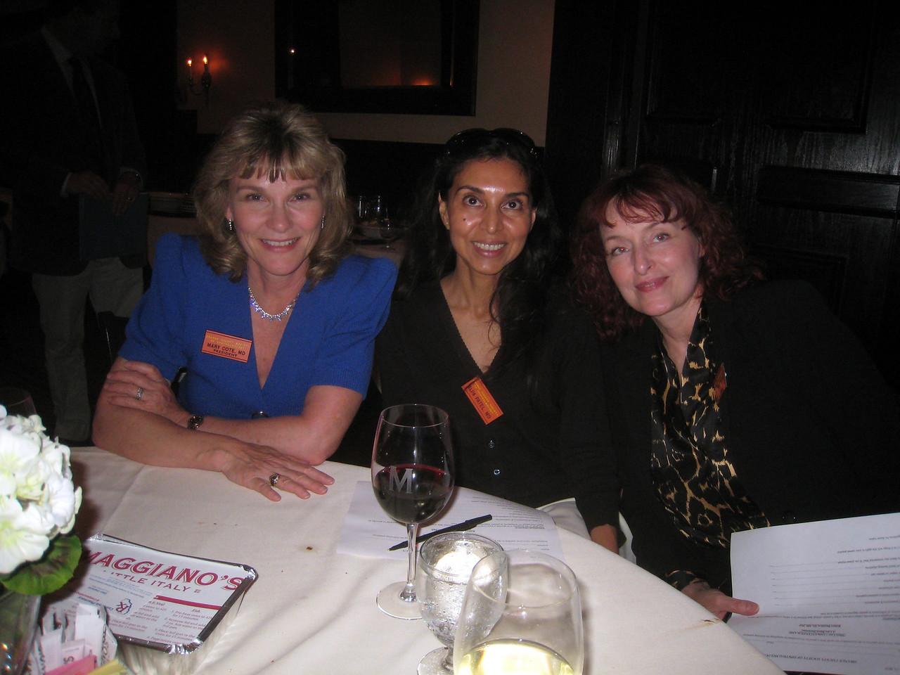 Mary Cote, Alpa Patel, Julie Claveria