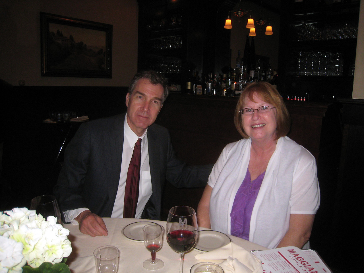 John Maher and Donna McPride