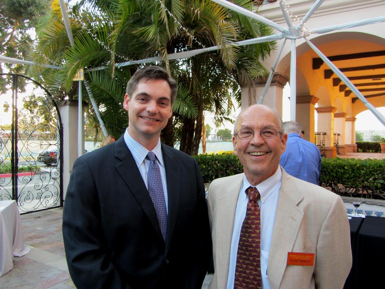 05 Speaker David Richardson with George Baerveldt