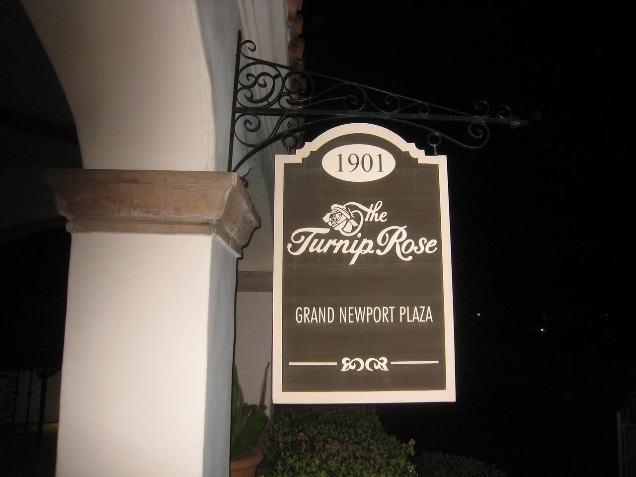 01 Meeting at Turnip Rose in Costa Mesa