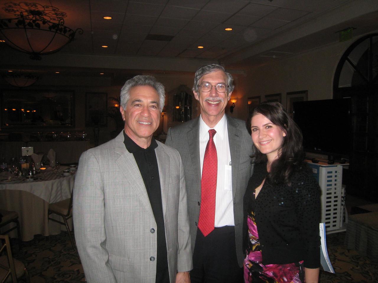 08 Program Speaker Don Serafano with Ron Gaster & Nika Omid