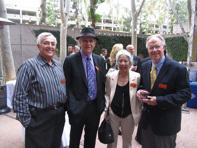 04 Dick Klotz, Herm Rundle, Arlene Gwon, Bob Collier