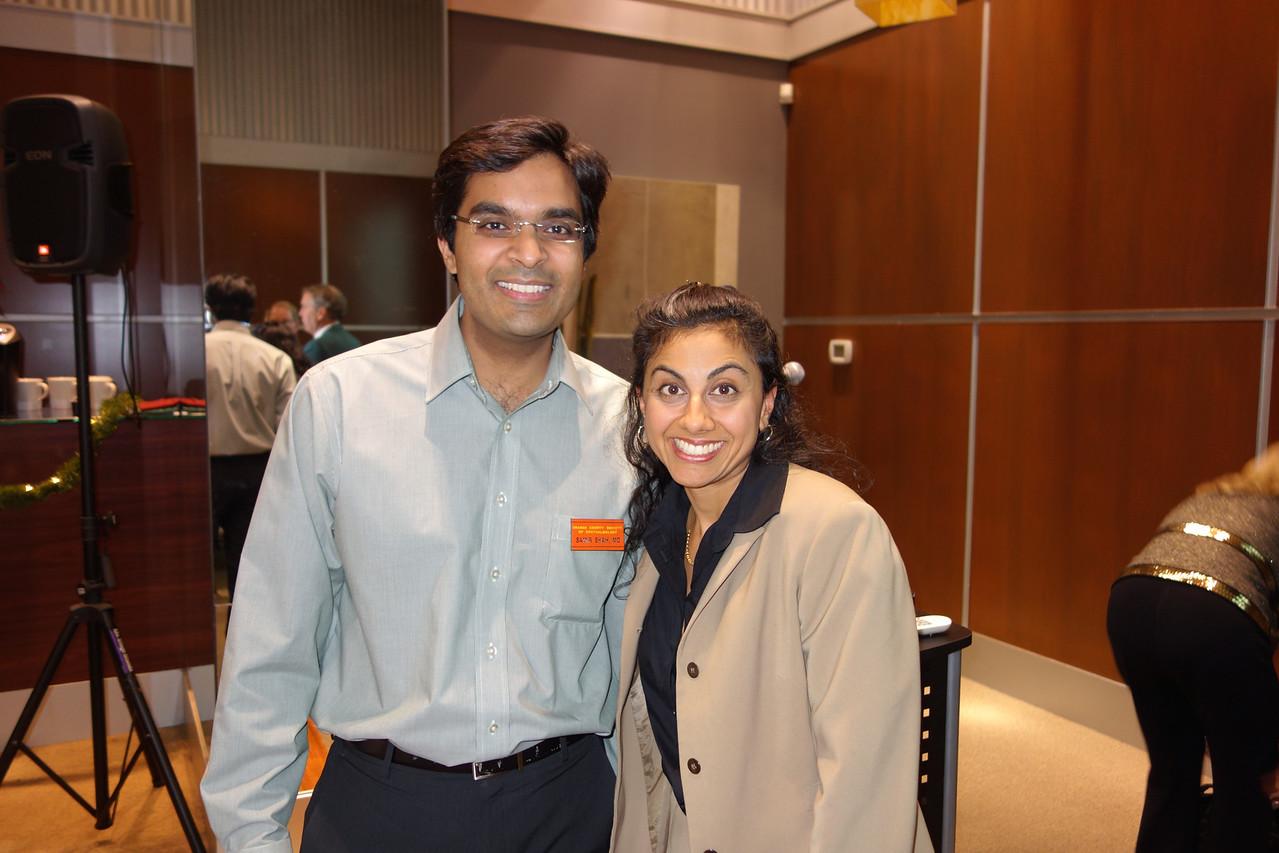 Samir Shah and Madhu Agarwal<br /> DSC02473