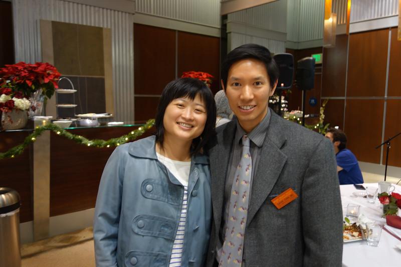 Acting Program Chair David Chia and Vicki Lin<br /> DSC02464