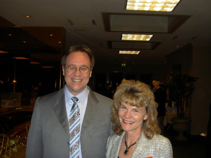 Speaker Henry Hudson & Mary Cote