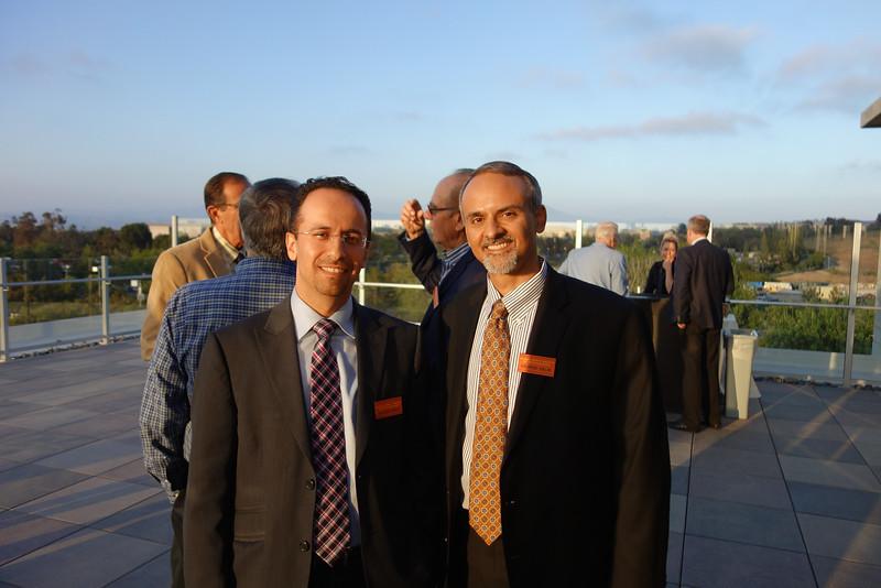 Shahem Kawji and George Salib