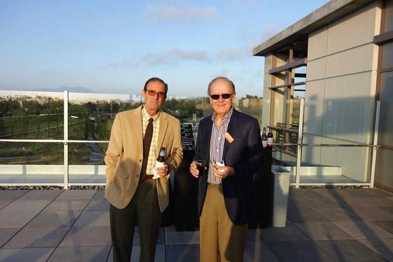 Robert Lingua and Herman Rundle