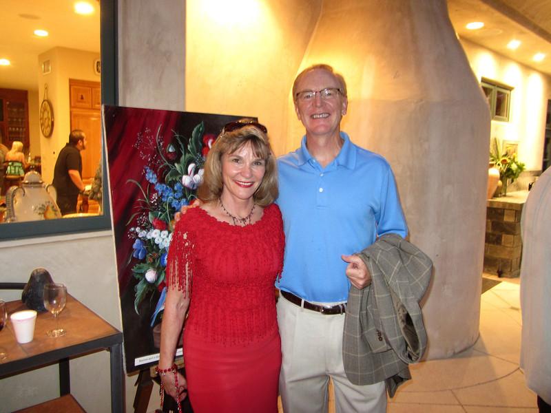 Dr Mary Coté and Dr Chuck Keller