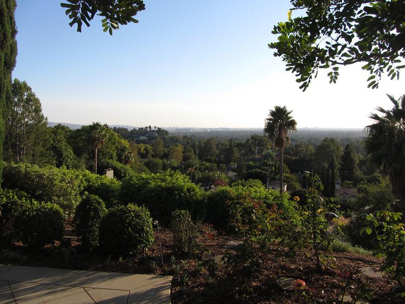 Patio Southwest view toward Irvine.