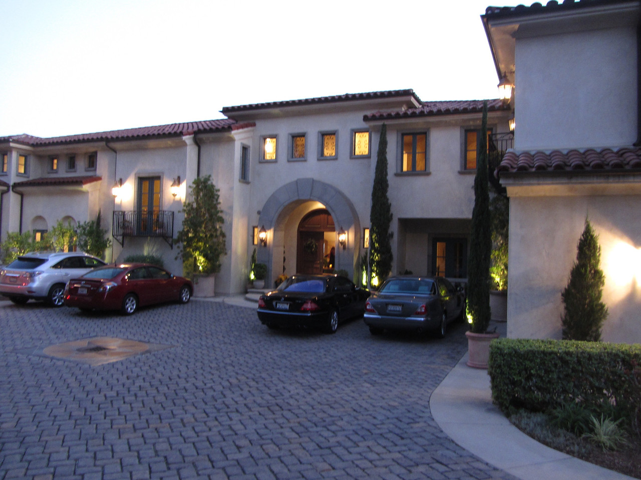 Maggiano Residence at twilight.