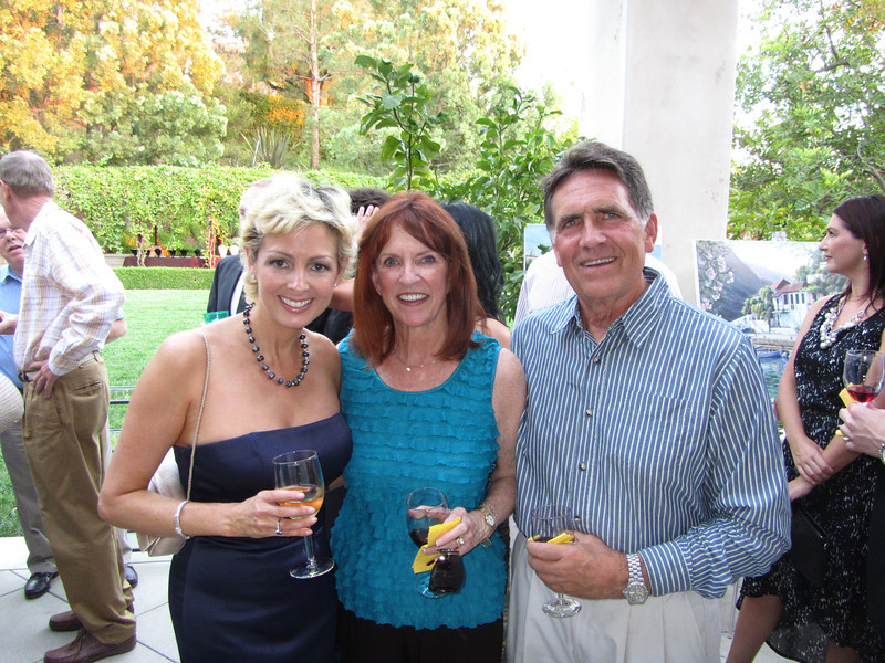 Holly Spanggord with Dr & Mrs Bill McCarthy