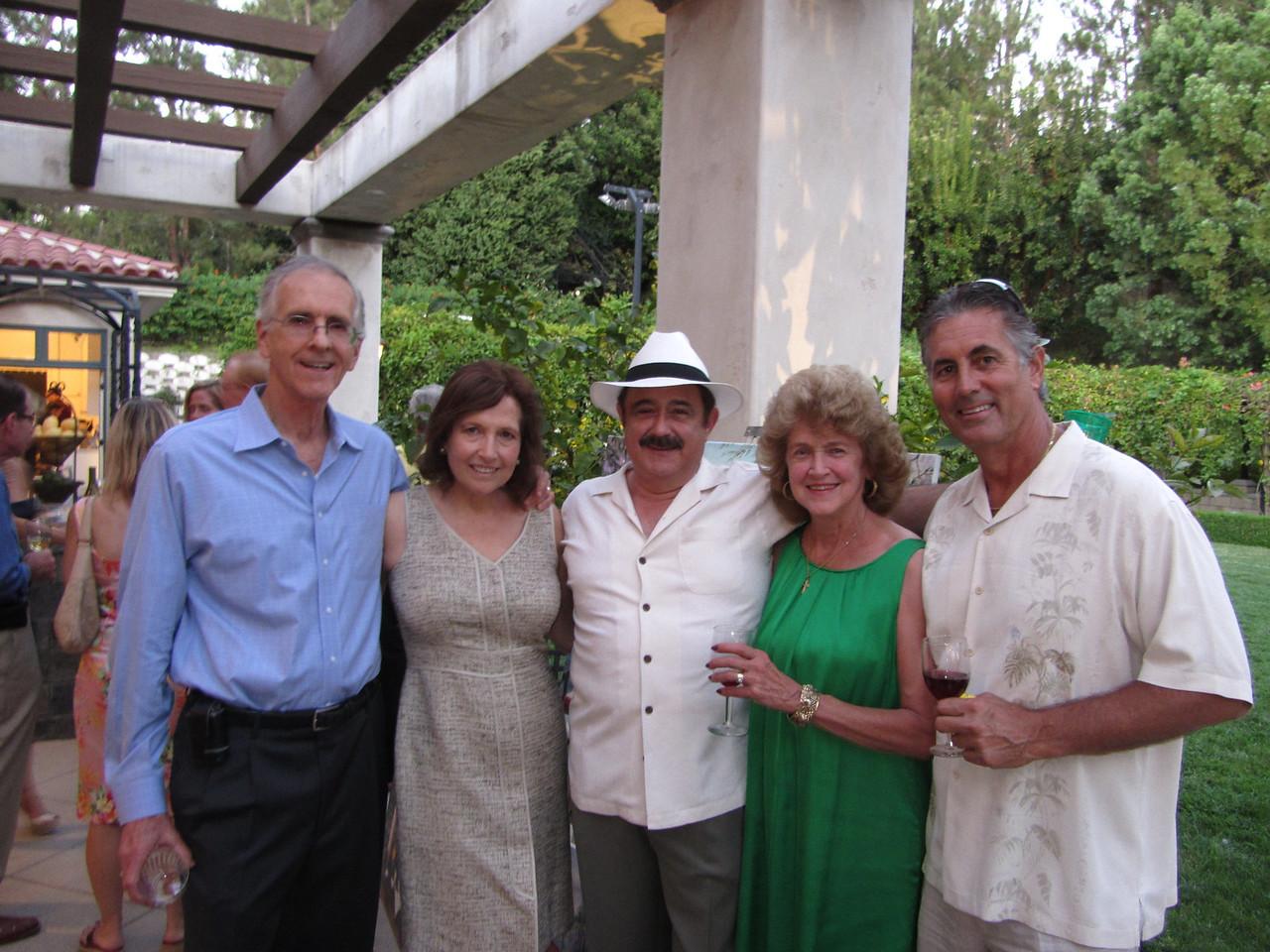 Mike & Cyli Lappin, John & Cheri Maggiano, Vince Ferragamo