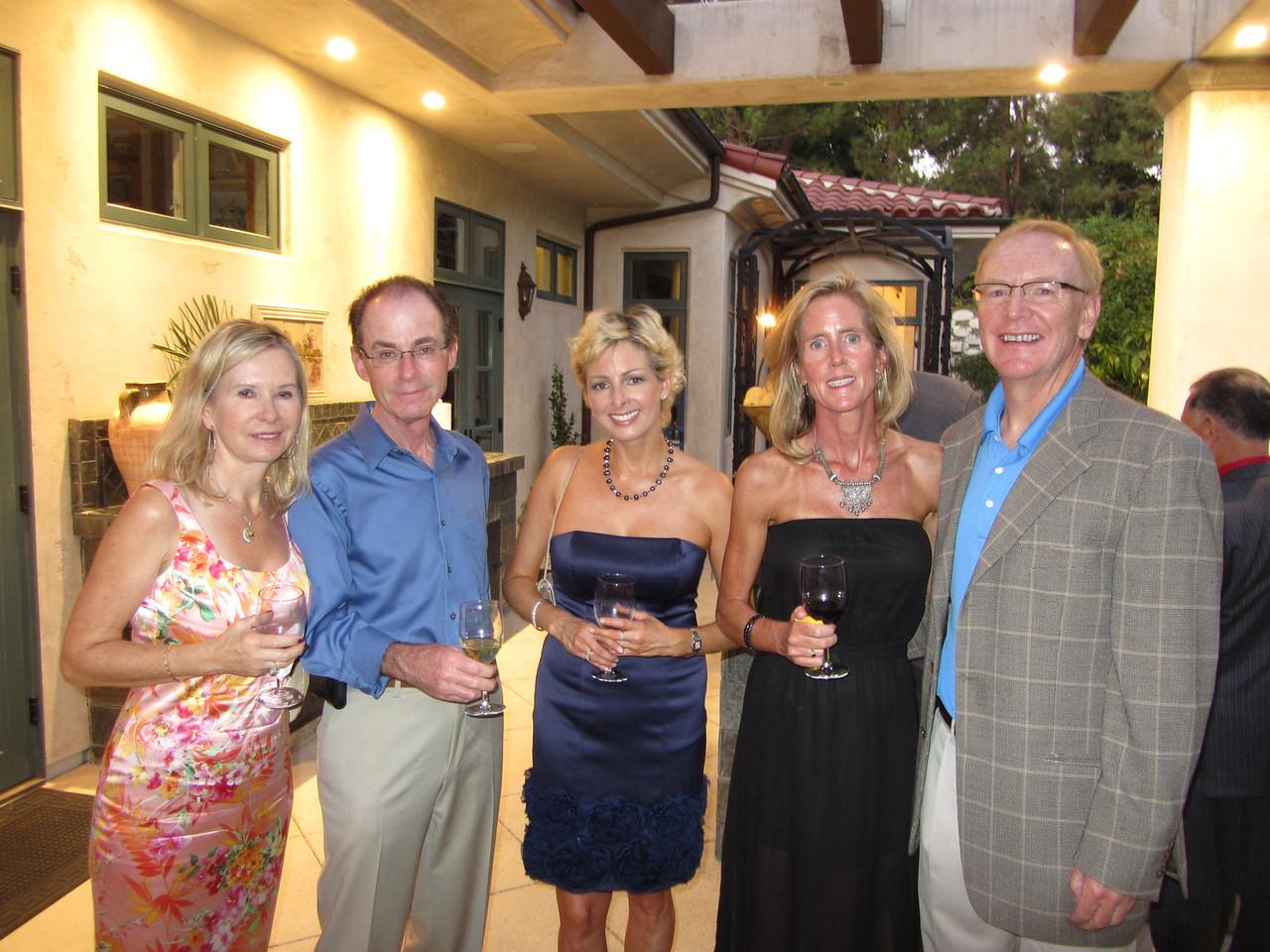 Barbara & Andrew Henrick, Holly Spanggord, Laura & Chuck Keller