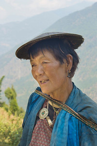 mountain Lady, Bhutan