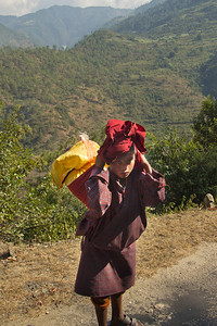 Bhutan farm boy