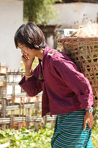 the cell phone reaches every corner of our world. Bhutan