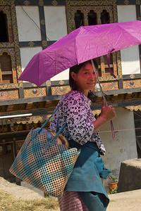 city girl, Bhutan