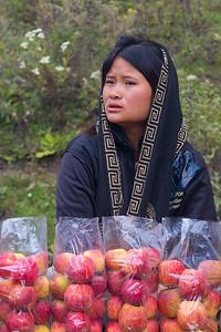 veggy merchant. Bhutan