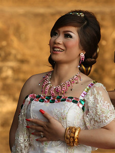 bride in Cambodia