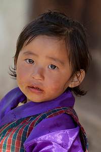 child, Bhutan