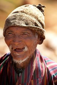 elder gentleman, Ugen Choling, Bhutan