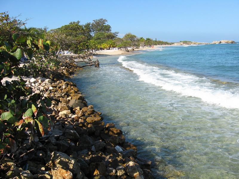 The coast of Labadee