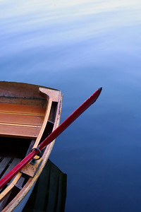 Rowboat on Lake Helena
