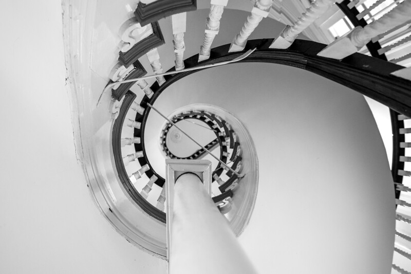 Old Boston State House Spiral Stairs