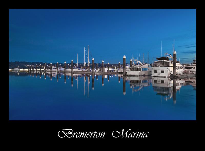 Bremerton Marina Poster-8